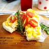 Tuna & Sweet corn Pizza Toast^_^with Mini Salad