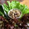 น้ำพริกปลาทู+ผักไฮโดรโปนิกส์