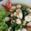 หอยนางรมผัดโหระพา