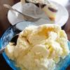 ไอศกรีมวานิลลากับชีสเค้ก