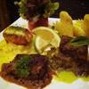 อันนี้จานเดียวอยู่เลย Shala One original mixed steak Snow fish, Salmon และนกกร