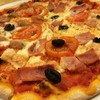 Cooked Ham Pizza