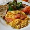 Main Dish1::Smoked Salmon Scrambled Eggs
