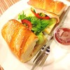 Viennese Bread Ham-Cheese Sandwich