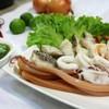 ลวกจิ้มเป่าซิง เสริฟพร้อมน้ำจิ้ม Seafood รสชาติเต็มสูตร