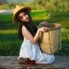 ถ่ายภาพเป็นสาวเก็บชา กับมุมมหาชน