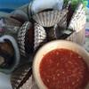 หอยแครงเผา จัมโบ้