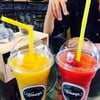 mango shake & strawberry shake