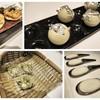 ความคิดสร้างสรรค์บนอาหารจานแรกที่เสิร์ฟ โดยเฉพาะถั่วที่ทานได้ทั้งถุง