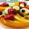 fruit salad waffle 135 บาท