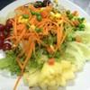 สลัดผัก ให้จานใหญ่มาก