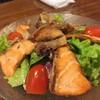Black Pepper Grilled Salmon Salad