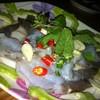 กุ้งแช่น้ำปลา อร่อย