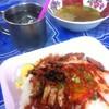 ข้าวหมูแดงราดน้ำแล้ว..^^@บะหมี่-ลอยฟ้า