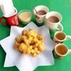 มาถึงที่แต่เช้า ควันออกปาก ดื่มโอวัลตินร้อนๆ ชาอุ่นๆ ได้ที่นี่ค้ะ