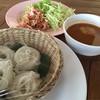 ขนมจีนน้ำยาป่าอาหารจานหลักของวันนี้