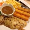ปลา+ไส้กรอกโฮมรูม