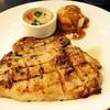 Pork chop ซอสพริกไทยดำ+มันบด
