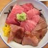 จานหลักของวันนี้ Makuro Dzukushi Don ข้าวหน้าปลามากุโร่รวมมิตรอร่อยโฮก!