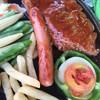 เนื้อกับไส้กรอก