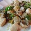 สะดือหอยผัดฉ่า (180 บาท)