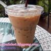 คาราเมลลาเต้เย็นแก้วละ 50 บาท หอมกรุ่นกาแฟสดและกลิ่นคาราเมล