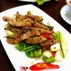 หมูคุโรบุตะ ผัดพริกไทยดำ