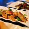 Grilled Lemongrass Marinated Chicken Skewer (450++)