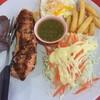 ปลาแซลมอนพริกไทยดำ