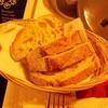 ขนมปังให้มาทานระหว่างรออาหาร