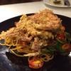 spicy soft shell crab spaghetti สปาขี้เมาปูนิ่มทอดกรอบ