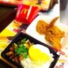 ข้าวไก่กรอบ กระเทียมพริกไทย