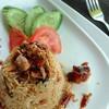 ข้าวผัดแซลมอนซอสมะขาม (119.- บาท)