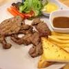 Steak หมูพริกไทยดำ