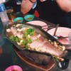 ปลากระพงนึ่งมะนาว ถ่ายทันแค่เมนูเดียว 555