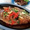 ปลาทับทิมสามรส (250 บาท)