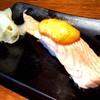 ขออีกมุมกับ Salmon Mentaiko Sushi