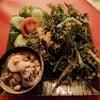 ยำผักบุ้งกรอบ smobaa เมืองทอง