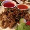 ปลาหมึกผัดพริกเกลือ อร่อย!