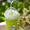 """Iced Coconut Greentea"" (ราคา 70 บาท) อ่านต่อได้ที่ http://www.wongnai.com/revie"