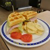 Ham&cheese Waffle