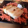 ปลากระพงย่างชิ้นใหญ่ หอมอร่อย