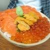 Salmon + Ikura + Uni