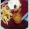 หน่องไก่ทอดเฟรนซ์ฟรายส์