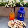 Orange Strawberry Soda & Tokyo banana sundae 🍌