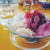 ไอศกรีมบลูเบอรี่+เงาะ+เชอรี่