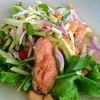 ยำปลาแซลมอน (280฿)