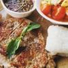 I Steak & Bann Kanom สี่แยกโรงเจนาเกลือ(มูลนิธิสว่างบริบูรณ์นาเกลือ)