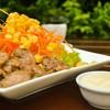 สลัดหมูพริกไทยดำ