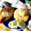 ข้าวห่อไข่หน้าปลาทอด